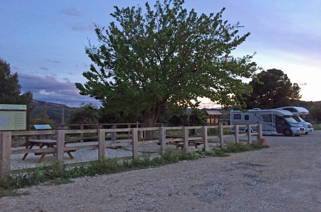 Via Verda Terra Alta – Parc Natural Els Ports – Els Estrets d'Arnes – Toll Blau