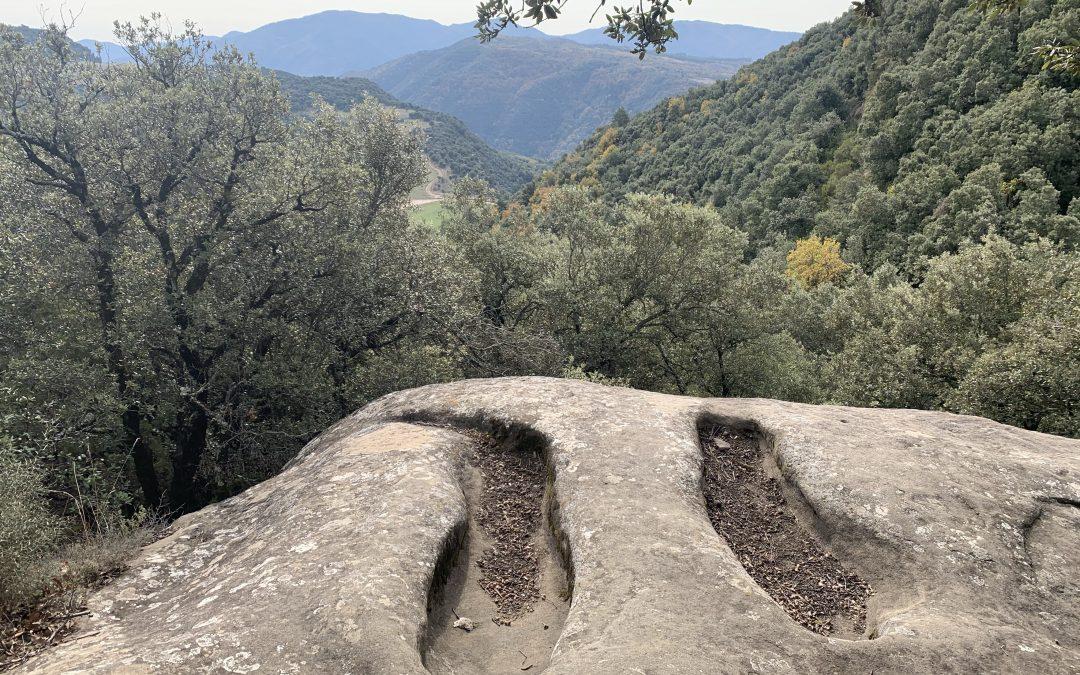 CANTONIGROS (La Foradada) – RUPIT (Salt de  Sallent – Tombes medievals – Mirador dels Bassis – Molí del Soler)